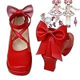 img_コスプレ靴◆魔法少女→鹿目まどか コスプレ用ブーツ