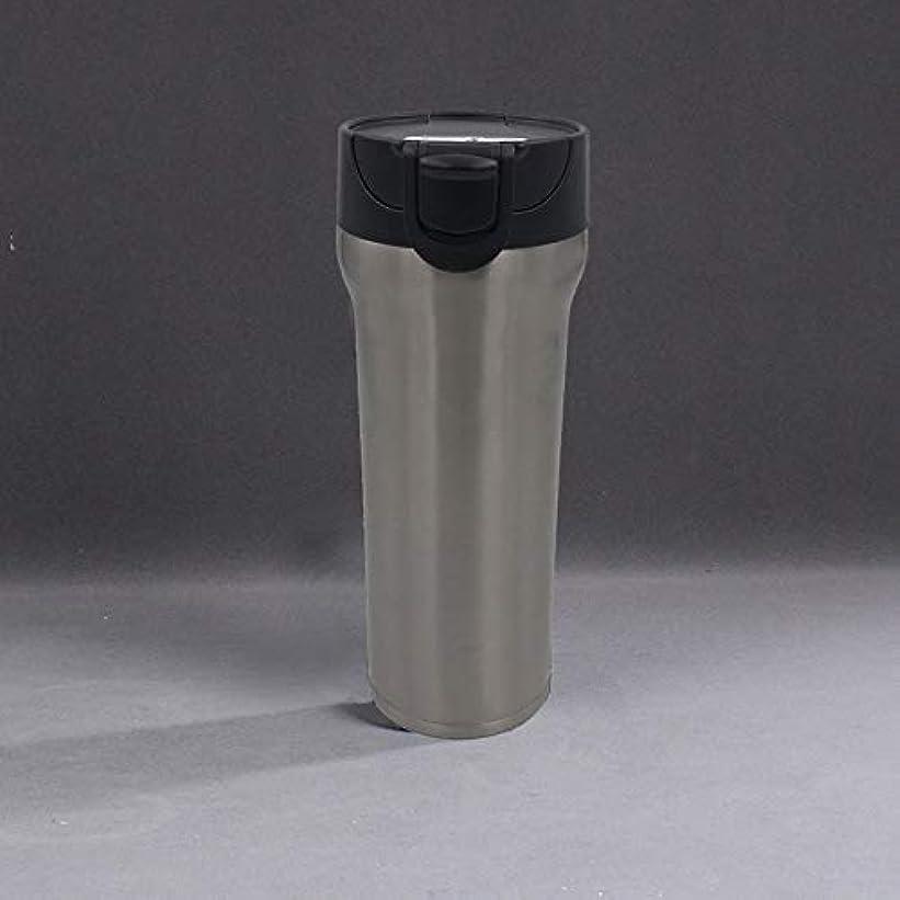 降下良心的こどもの日Xiaoyuna 350ミリリットルステンレス鋼魔法瓶カップサーモカップ断熱タンブラー真空フラスコガラファテルミカサーモコーヒーマグ旅行ボトルマグ (Color : 500ml-Silver-kf4, Size : One size)