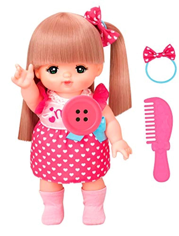 おしゃれヘアメルちゃん+ペチャット(ピンク)おしゃべりセット