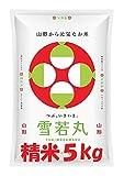 山形県産 雪若丸 精米5kg