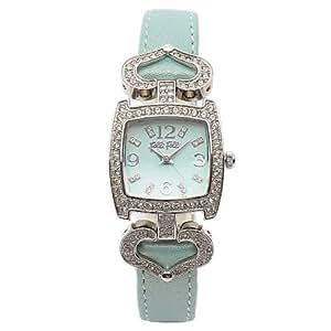 フォリフォリ 腕時計 レディース FOLLI FOLLIE WF5T120SPL ジュエル ジルコニア 腕時計 ウォッチ パールグリーン/シルバー[並行輸入品]