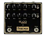 Friedman Amplification フリードマン◆ BE-OD DELUXE Dual Overdrive Pedal◆ オーバードライブbased on legendary BE-100『並行輸入品』
