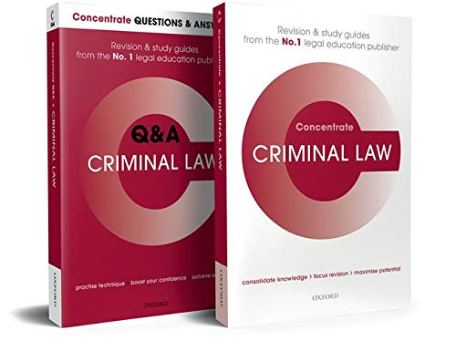 Download Criminal Law (Concentrate) 0198834802