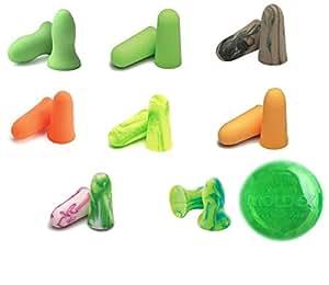 MOLDEX 耳栓お試し8種類セット+純正ケース1個付き