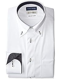 [ハルヤマ] HARUYAMA i-Shirt 完全ノーアイロン 360°ストレッチ 速乾 長袖 アイシャツ メンズ M151180078