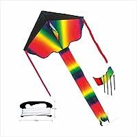 QiaoLiang Rainbow Kite for Kidsアウトドアおもちゃforキッドと大人用