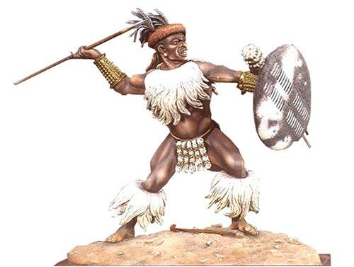 アンドレアミニチュアズ S8-F12 Zulu Warrior (Isandlwana 1879)