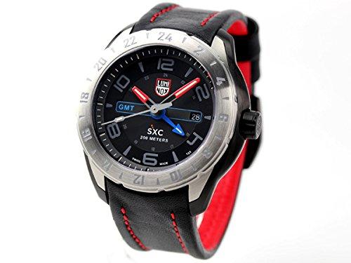 [ルミノックス]LUMINOX 腕時計 SXC スチール GMT クオーツ ブラック×レッド 5127 メンズ [並行輸入品]
