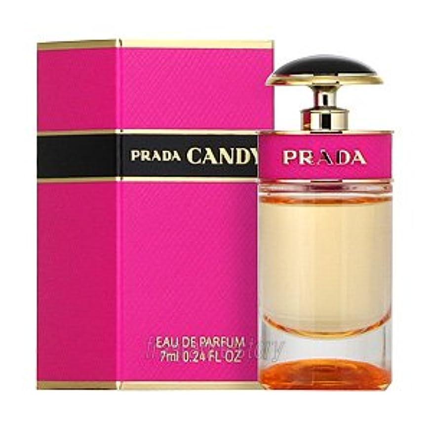 付録タクト動機プラダ PRADA キャンディ オードパルファム 7ml EDP ミニ香水 ミニチュア fs