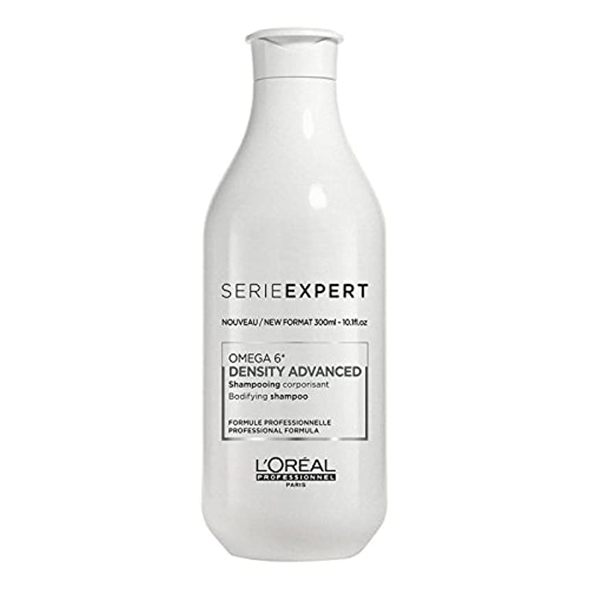 群がる温度拮抗するL'Oreal Serie Expert Omega 6 DENSITY ADVANCED Bodifying Shampoo 300 ml [並行輸入品]