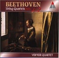 ベートーヴェン:弦楽四重奏曲第1番/同第2番