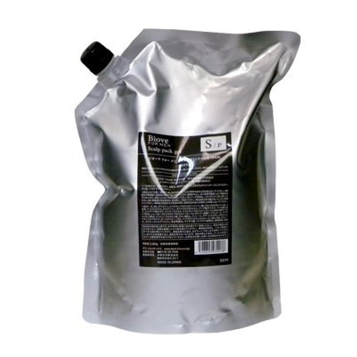 インシデント踏み台小麦デミ ビオーブ フォーメン スキャルプパックジェル 2000g 詰め替え (頭皮トリートメント)