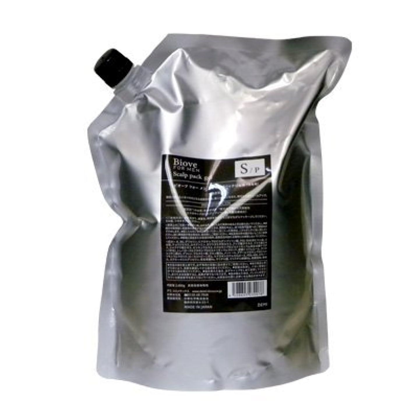 溶接関連付ける無効にするデミ ビオーブ フォーメン スキャルプパックジェル 2000g 詰め替え (頭皮トリートメント)