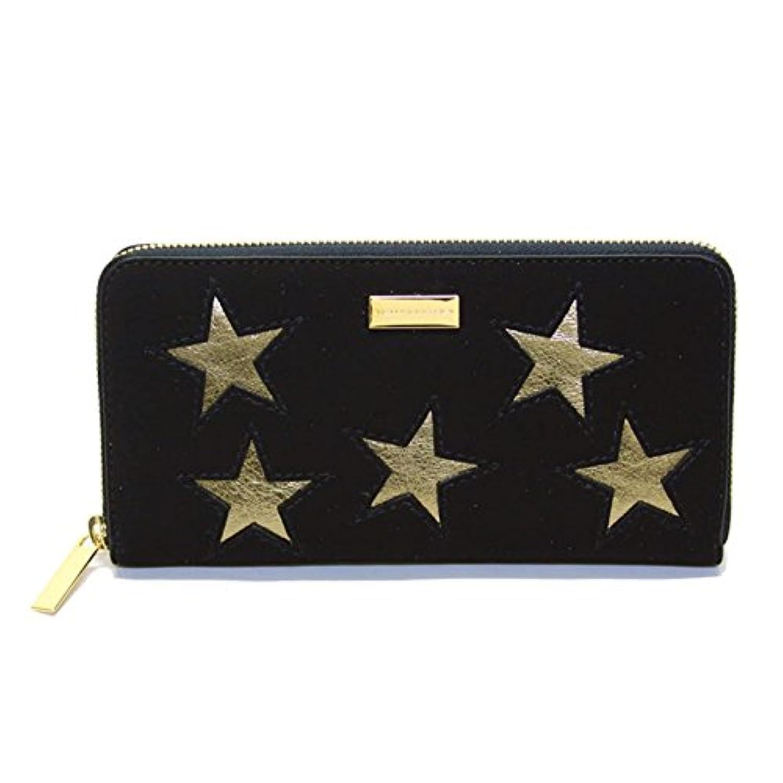 ステラマッカートニー STELLA McCARTNEY 431020 W8140 1000 スター 星型パッチワーク ラウンドファスナー長財布 Wallet Gold Stars [並行輸入品]