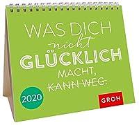 Was dich nicht gluecklich macht, kann weg 2020: Mini-Monatskalender