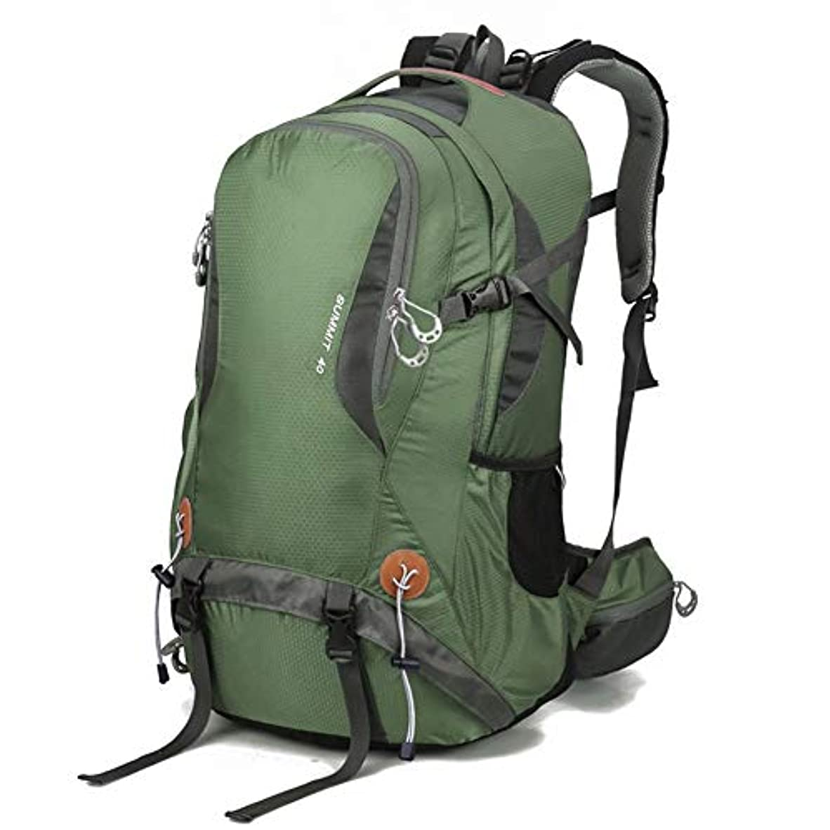 アウター不規則性魅了するGAOFENG アウトドアスポーツバックパックキャンプハイキング防水リュックサック登山バッグ付きレインカバー旅行用トレッキング