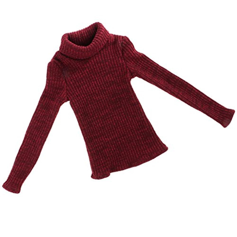 Dovewill  1/3スケール メンズBJDドール対応 タートルネック  セーター  ニット 装飾