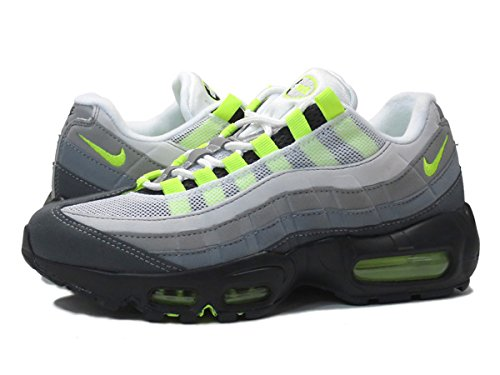 [ナイキ]NIKE WMNS AIR MAX 95 BLACK/VOLT/GREY [並行輸入品]