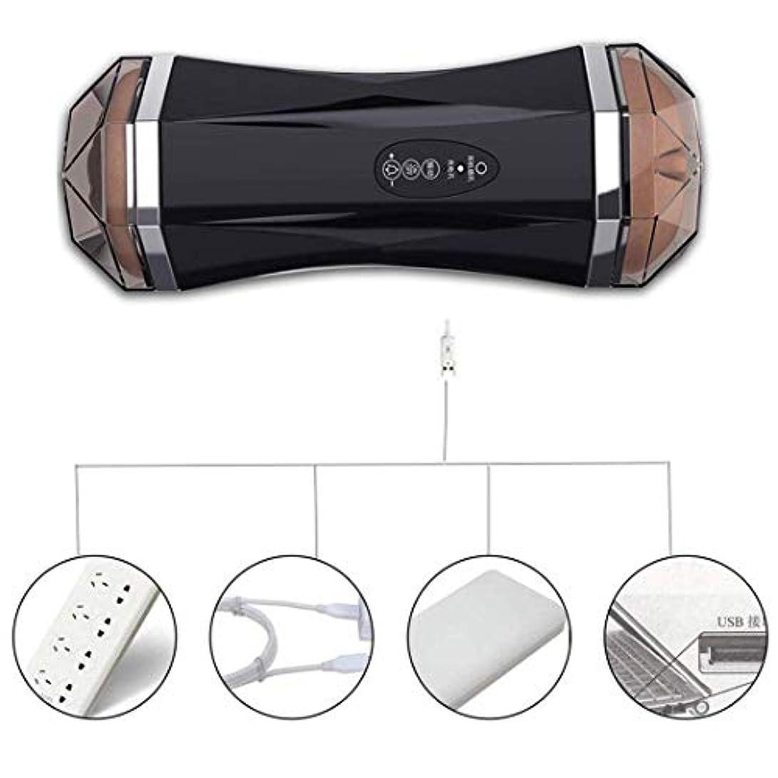 家主柔らかい支援CRFJB 男性用Tシャツアンダーウェアノイズレスリアルインテリジェント8周波数PístonVǐbrǎtiǒnMássageCup Handheld Personal Body Massager