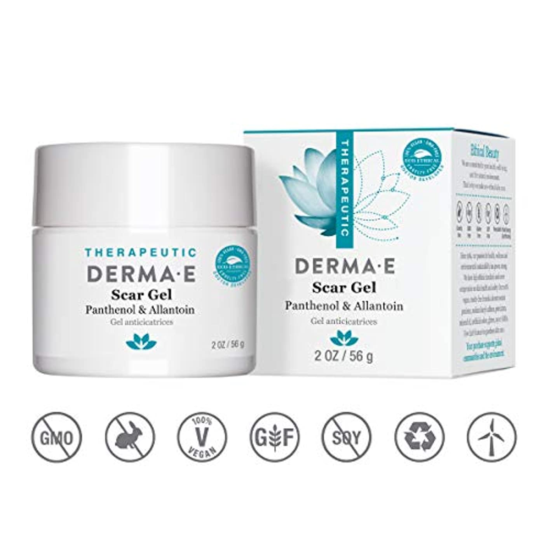 色合い安定意図Derma E, Scar Gel, 2 oz (56 g)