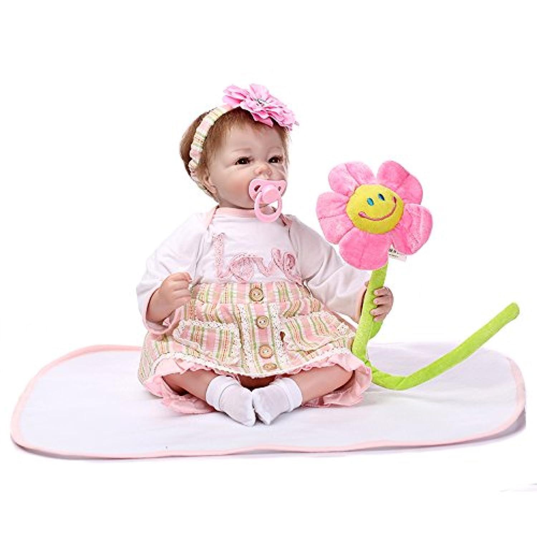 NPK COLLECTION 55CM ベビードール リボーンドール きせかえ人形 ドール 新年プレゼント 誕生日プレゼント 人形