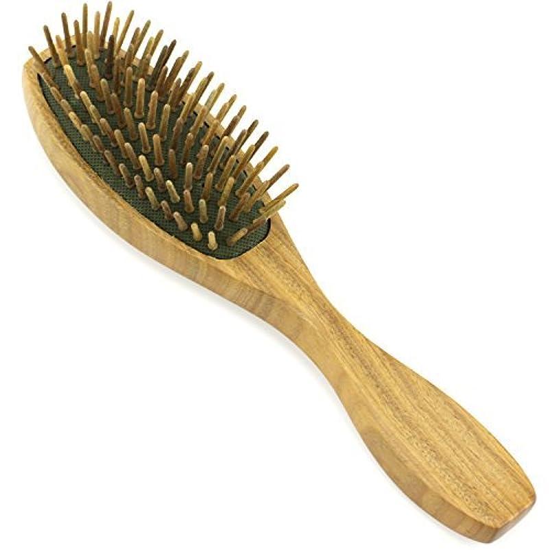 石化するスムーズに製作Evolatree - Evolatree - Wood Bristle Brush, Wood Comb Hair Comb, Wood, 8.25