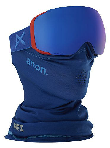 18-19 ANON (アノン) ゴーグル M2 MFI - ASIAN FIT WITH SPARE BLUE 203361 エムツー エムエフアイ アジアンフィット アジアンフィット ジャパンフィット スノーボード スキー