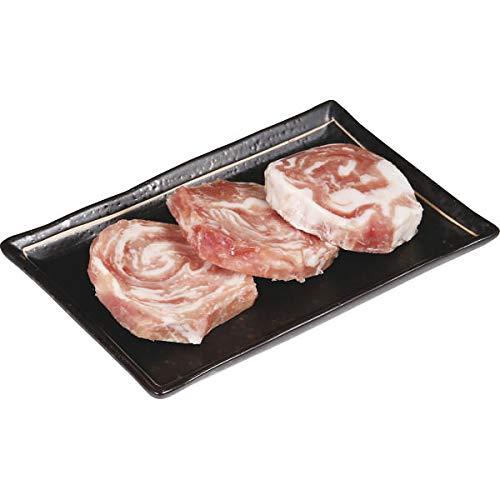 鹿児島県産黒豚 モモ肉ミニロールステーキ(3枚) お中元お歳暮ギフト贈答品プレゼントにも人気