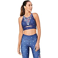 Dharma Bums Women's Keyhole Crop - Daisy Chain