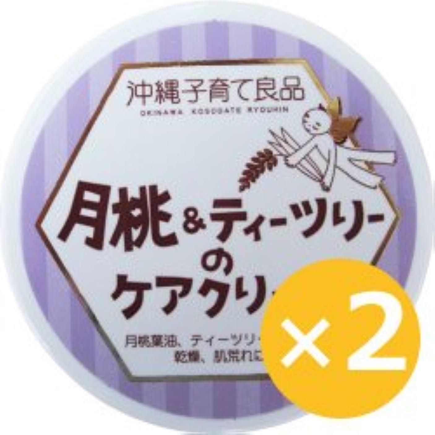 タイル著名な実際に月桃&ティーツリークリーム 25g×2