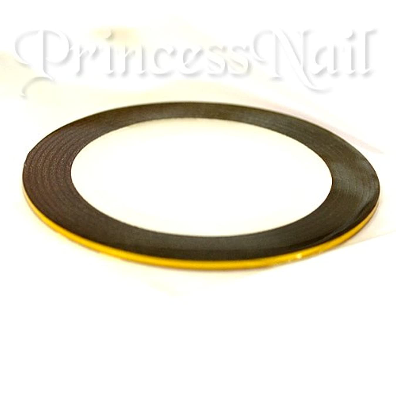 理論的委託収容するラインテープ ゴールド(gold)幅1ミリ×長さ18メートルのラインシール