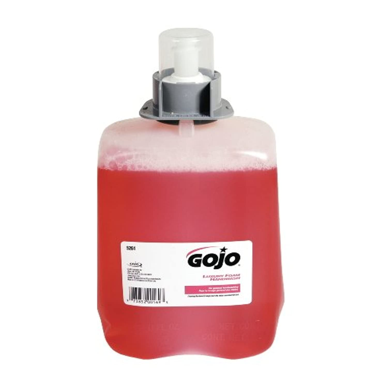 薬用激怒良性GOJ526102 - Gojo Luxury Foam Hand Wash Refill for FMX-20 Dispenser by Gojo