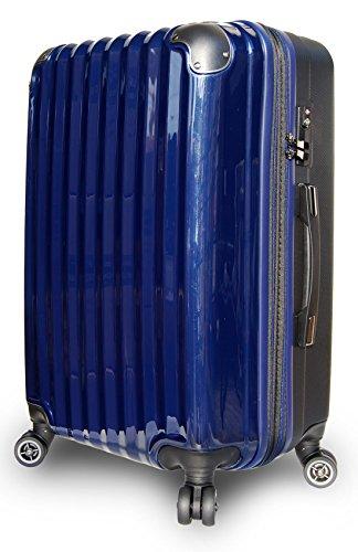 スーツケース 軽量 拡張 ダブルキャスター 8輪 LM L ...