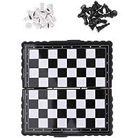 F Fityle 国際チェス プラスチック チェスマン チェスボード