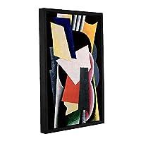 ArtWall lyubov Sergeyevna Popova 's Untitled 1916ギャラリーWrappedフロータFramedキャンバスアートワーク 12X18 1pop003a1218f