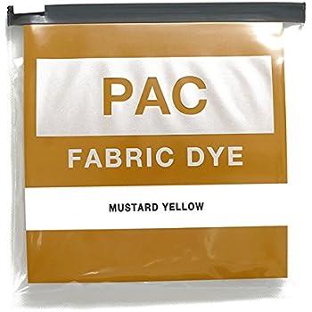 PAC FABRIC DYE 繊維用染料 col.05 マスタードイエロー