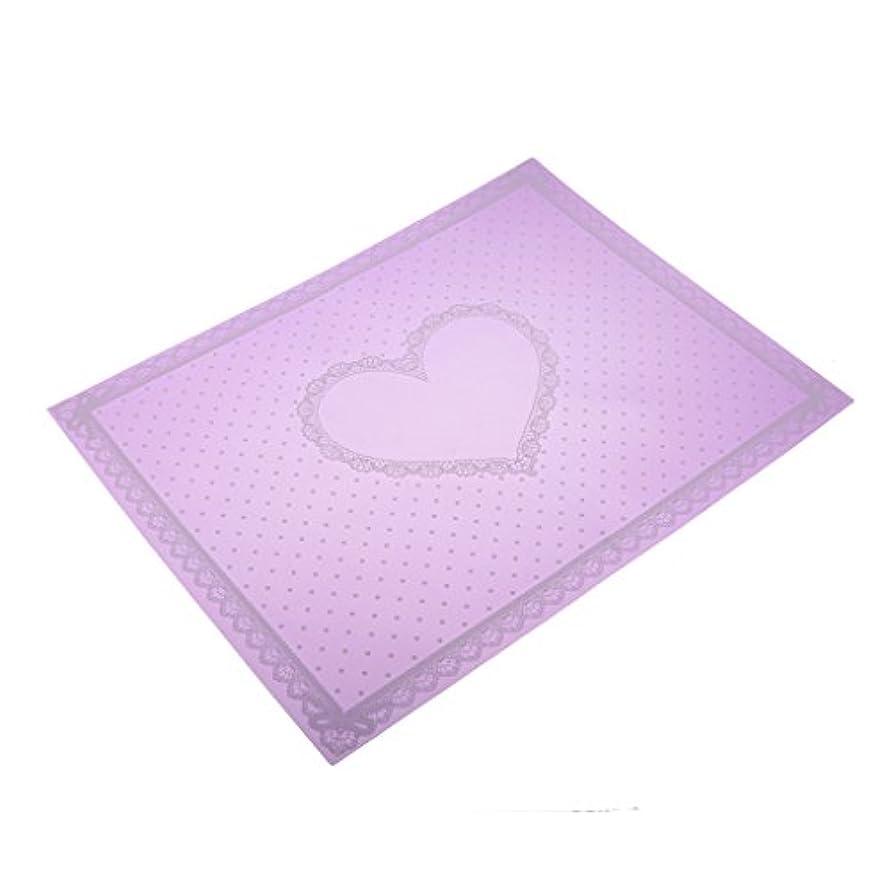 怠惰流行わずかなToygogo ネイルアートツール 腕置き 肘置き クッション テーブルクロス ハンドマット 折り畳み式 全2色 - 紫