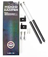 NRG Innovations HD-200CF Carbon Fiber Hood Damper Kit [並行輸入品]