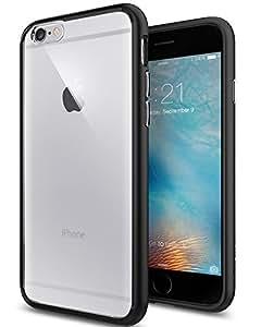 【Spigen】iPhone6S ケース / iPhone6 ケース ウルトラ・ハイブリッド 米軍MIL規格取得 (ブラック SGP11600)