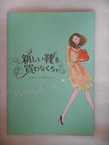 2012年映画パンフレット 新しい靴を買わなくちゃ 中山美穂 向井理 桐谷美玲 綾野剛