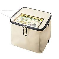 サンワサプライ 宅配ボックス 折りたたみ式 50Lサイズ(アイボリー) DB-BOX1
