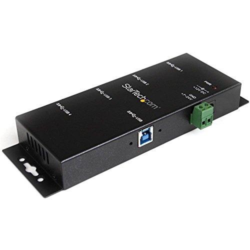 4ポート産業用 USB 3.0ハブ ウォールマウント対応 ST4300USBM