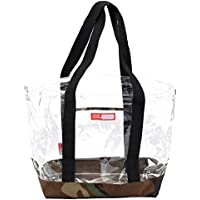 Rough Enough 透明 迷彩 ビニール トートバッグ ビーチ バッグ Clear Transparent Tote Beach Bag