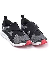 [アディダス] adidas 女の子 キッズ 子供靴 運動靴 通学靴 スリッポン スニーカー フォルタスリップオン K 限定モデル 軽量 クッション性 抗菌 防臭 カジュアル スポーツ スクール 学校 FORTASLIPON K CQ2449