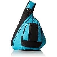 エベレストBB015-TURQ-BKスリングバッグ - ターコイズ、ブラック