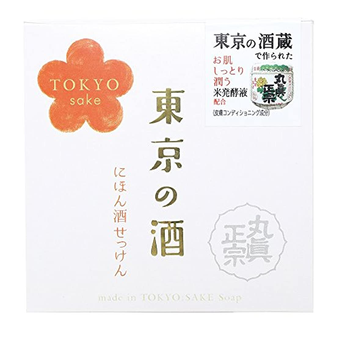 分知り合い虐待ノルコーポレーション 東京の酒 石けん OB-TKY-1-1 100g
