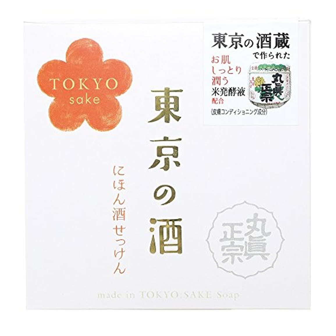 ペダルそして農民ノルコーポレーション 東京の酒 石けん OB-TKY-1-1 100g