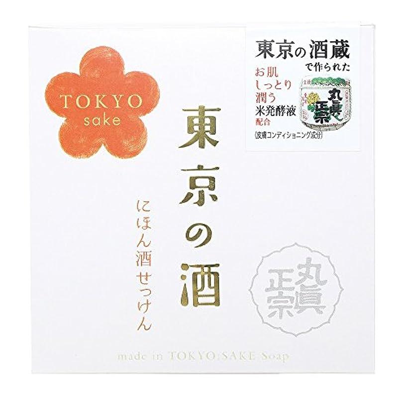 困惑する欺く不規則性ノルコーポレーション 東京の酒 石けん OB-TKY-1-1 100g