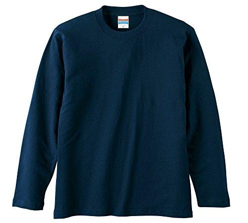 (ユナイテッドアスレ)UnitedAthle 5.6オンス 長袖Tシャツ 501001 [メンズ] 086 ネイビー S