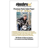 28cm x 36cm 50 Sheets Premium Arctic Matte Inkjet Photo Paper 230gsm